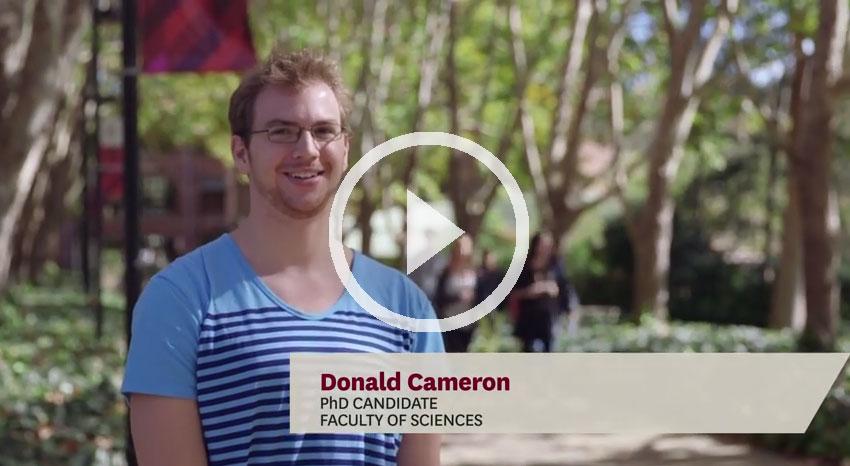 Donald Cameron - MRes student